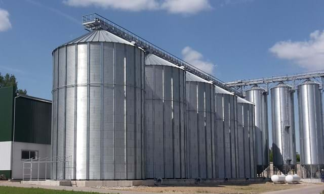 Grain handling solutions for 8500 tons and grain drying