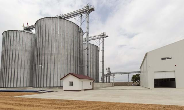 Grain handling solutions 15,500 tons