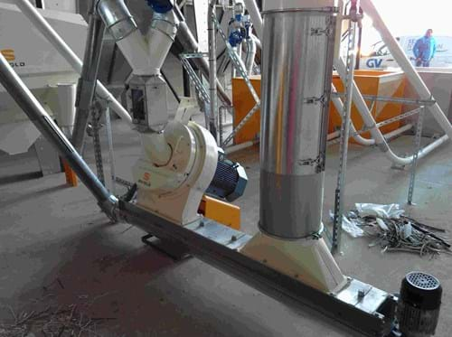 Cattle feed solution - disc mill grinding solution