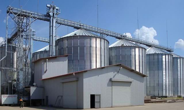 Grain handling solutions - 15,500 tons storage