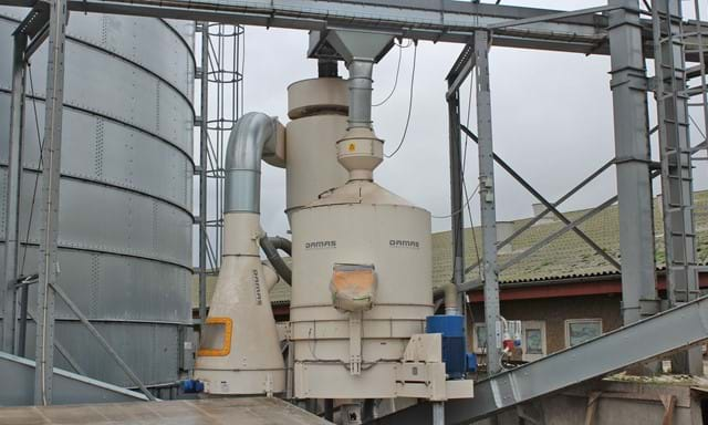 grain cleaning machine - removal of mycotoxins