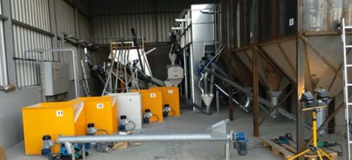 cattle feed solution 1 tons/hour