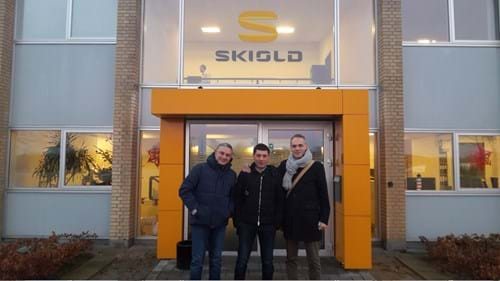 Visit at SKIOLD in Denmark - Zoogamma and Caredi