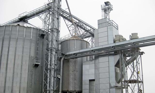 grain conveying and storage